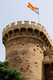 Torres (Towers) de Quart In Valencia. City Royalty Free Stock Image