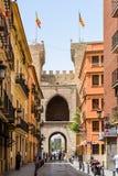 Torres (Towers) de Quart In Valencia Royalty Free Stock Photos