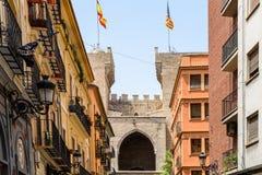 Torres (Towers) de Quart In Valencia Stock Image