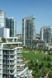 Torres urbanas del condominio Fotografía de archivo