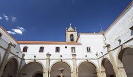 Torres Vedras Graca Monastery Royaltyfria Foton