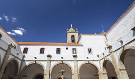 Torres Vedras Graca Monastery fotografie stock libere da diritti