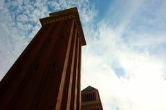 Torres venecianas Imagenes de archivo