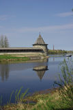 Torres viejas en Pskov Imagen de archivo libre de regalías