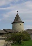 Torres viejas en Pskov Foto de archivo