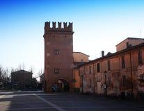 Torresotto 1321 παρατηρητήριο, SAN Giorgio Di Piano, Μπολόνια, Ιταλία στοκ εικόνα με δικαίωμα ελεύθερης χρήσης