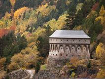 Torreta de Fusileros at Canfranc Royalty Free Stock Photos