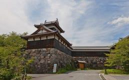 Torreta de Otemukaiyagura do castelo de Yamato Koriyama, Japão Fotos de Stock Royalty Free