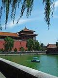 Torreta en el palacio imperial de Pekín Imagenes de archivo