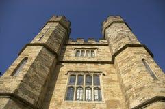 Torretas de Leeds Castle Imágenes de archivo libres de regalías