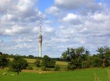 Torretta 02 della televisione di Dresdener Immagine Stock Libera da Diritti