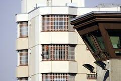 Torretta 5 della vigilanza della prigione Fotografia Stock