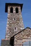 Torretta al Villefrance-de-Conflent fotografia stock libera da diritti