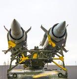 Torretta antiaerea sul carro armato Immagine Stock Libera da Diritti
