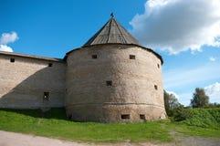 torretta antica della fortezza Fotografia Stock Libera da Diritti