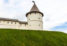 torretta antica della fortezza Fotografia Stock