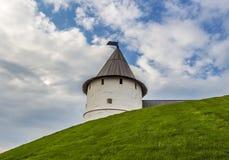 torretta antica della fortezza Immagini Stock Libere da Diritti