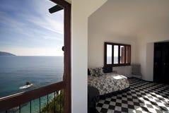 Torretta, appartamenti residenziali di lusso, vista della stanza Fotografie Stock