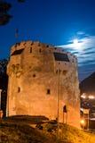 Torretta bianca, Brasov, Romania Fotografia Stock Libera da Diritti