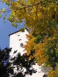 Torretta, castello Bitov, Repubblica ceca, Europa Fotografia Stock