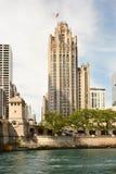 Torretta Chicago della tribuna Immagine Stock