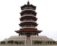 Torretta cinese fotografie stock libere da diritti