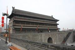 Torretta cinese del cancello Fotografie Stock Libere da Diritti