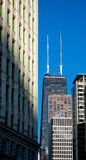 Torretta concentrare del John Hancock in Chicago Immagine Stock Libera da Diritti