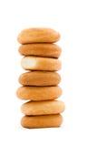 Torretta dei bagel Fotografie Stock