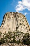 Torretta dei diavoli nel Wyoming immagine stock libera da diritti