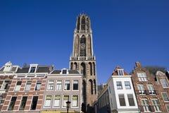 Torretta dei DOM di Utrecht, Olanda Fotografie Stock Libere da Diritti