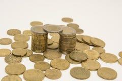 Torretta dei soldi - concetto della banca Fotografia Stock