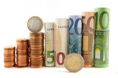 Torretta dei soldi - concetto della banca Immagine Stock
