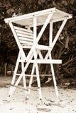 Torretta del bagnino Fotografia Stock Libera da Diritti