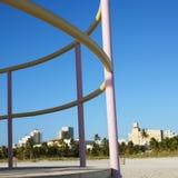 Torretta del bagnino a Miami, Florida, S.U.A. Immagine Stock