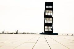 Torretta del beacht di Barcellona immagini stock