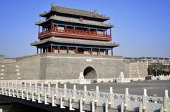 Torretta del cancello di Pechino Fotografie Stock Libere da Diritti