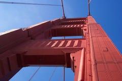 Torretta del cancello dorato fotografia stock libera da diritti