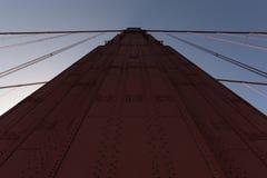 Torretta del cancello dorato Fotografie Stock