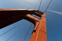 Torretta del cancello dorato Fotografia Stock