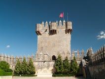 Torretta del castello del del Rio di Almodovar Fotografie Stock Libere da Diritti