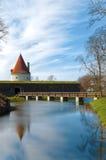 Torretta del castello di Kuressaare Immagine Stock Libera da Diritti