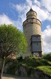 Torretta del castello in Germania Immagine Stock