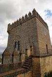 Torretta del castello medioevale in spagna Fotografie Stock