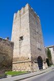 Torretta del Dante. Tarquinia. Il Lazio. L'Italia. Immagine Stock