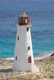Torretta del faro del porto di Nassau Fotografie Stock Libere da Diritti