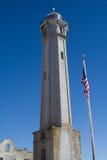 Torretta del faro di Alcatraz fotografia stock libera da diritti