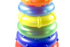 Torretta del giocattolo dell'anello Fotografia Stock
