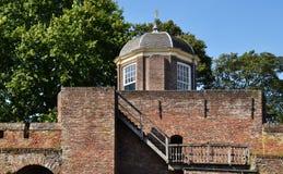 Torretta del Martinet o torretta di Bourgonje. Immagine Stock
