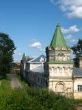 Torretta del Nikolsky del monastero Immagine Stock